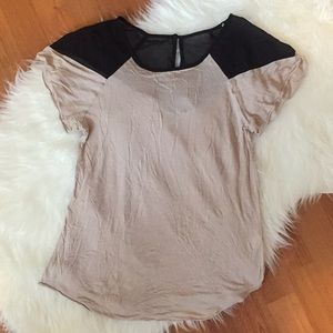 Tops - LAST CHANCE! Tan Blouse